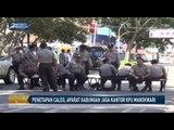 Penetapan Caleg, Aparat Gabungan Jaga Ketat Kantor KPU Manokwari