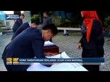 Siswa Tandatangani Deklarasi Jujur Ujian Nasional