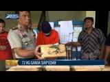 Polisi Amankan 72 Kg Ganja Siap Edar