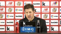 Reaction after Athletic Bilbao v Atletico Madrid