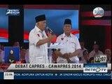 [Debat Capres-Cawapres 2014] Pangan, Energi, dan Lingkungan (6)