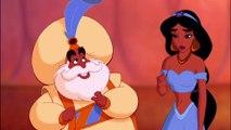 Extrait du film animé Aladdin - Jasmine a le droit d'être avec Aladdin