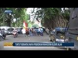 Tuntut Berantas Mafia Pendidikan Mahasiswa Blokir Jalan