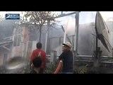 Korsleting Listrik Akibatkan Dua Rumah Ludes Terbakar