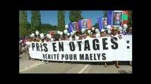 Un an après la disparition de Maëlys, une marche blanche pour réclamer la vérité