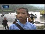 Jembatan Roboh, Ratusan Warga Jonggol Terisolir