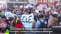 """Paris : la """"Marche du siècle"""" fait le plein pour le climat"""