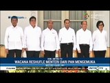Istana Isyaratkan Reshuffle Kabinet Jilid IV Terkait  Menteri Asal PAN Mundur