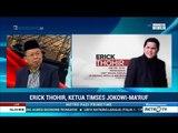 Beda Kubu, Erick Thohir dan Sandiaga Tetap Profesional