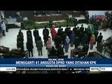 Suasana Pelantikan Pengganti Anggota DPRD Kota Malang Yang Korupsi Massal