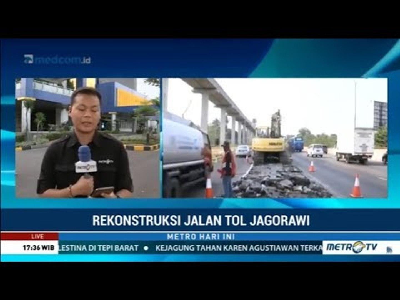 Awas Macet ! Hari Ini, Perbaikan Tol Jagorawi Arah Jakarta Dimulai