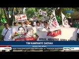 Meriah ! Tim Kampanye Daerah (TKD) Jokowi-Ma'ruf Daftar Ke KPU Jatim