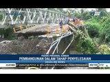 Jembatan Roboh Diterjang Banjir Bandang, Jembatan Darurat Disiapkan