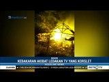 Api Membakar Rumah di Bogor Akibat Korsleting Listrik