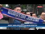 Bobotoh & Brotherhood Dukung Jokowi-Ma'ruf