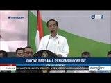 Jokowi Puji Bisnis Ojek Online Sebagai Inovasi Sumber Penghasilan Baru