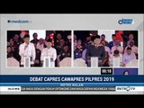 Momen Menarik Prabowo Joget, Dipijat Sandi, Jokowi-Prabowo Berpelukan, di Debat Perdana Pilpres 2019