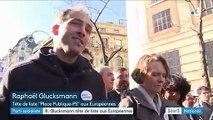 Parti socialiste : R. Glucksmann tête de liste aux Européennes