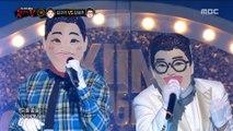 [1round] 'Kim Gura' VS 'Kim Seongju' - The cult of solo, '김구라' VS '김성주' - Solo예찬,  복면가왕 20190317