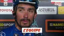 Alaphilippe «Je sais que je peux faire de bons sprints» - Cyclisme - Tirreno-Adriatico