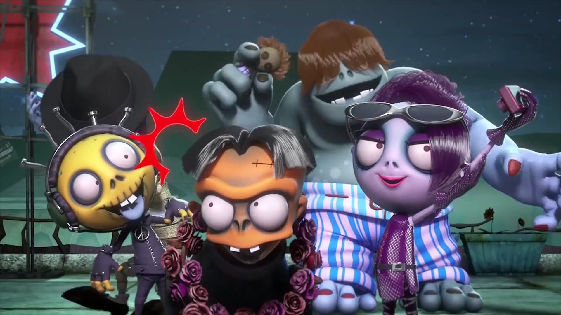 Zombie Dumb | Show Me the Eyes | cartn mvie | Videos For Kids |   Happy Kids