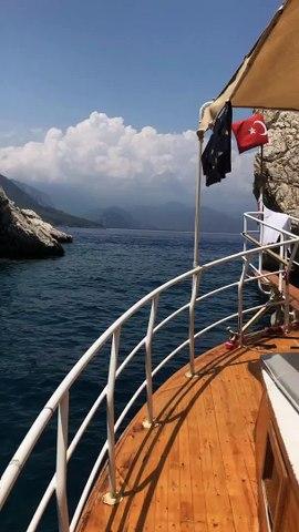 adrasan tekne turu sazak teknesi