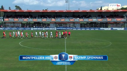 Coupe Gambardella-CA I Quarts de finale - MHSC / OL (2)