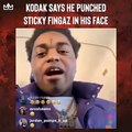 Kodak Black claims he punched Sticky Fingaz in the face, took his gun, found out it was fake, and that the Onyx rapper then ran off