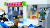 LEGO City Service Station Fail STOP MOTION LEGO City Sets Brick Film | LEGO City | By Billy Bricks