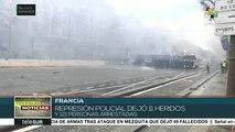 Policía francesa arresta a 121 integrantes de los Chalecos Amarillos