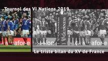 VI Nations - Le triste bilan du XV de France