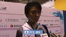 Yuzuru Hanyu - WC2012 - Interview after FS (ENG SUB)