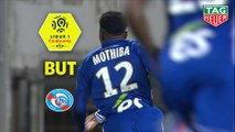 But Lebo MOTHIBA (9ème) / Nîmes Olympique - RC Strasbourg Alsace - (2-2) - (NIMES-RCSA) / 2018-19