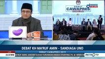 Pascadebat Cawapres 2019 Ma'ruf Amin vs Sandiaga Uno (1)
