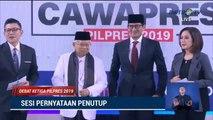 Debat Cawapres 2019 Ma'ruf Amin vs Sandiaga Uno - Part 6