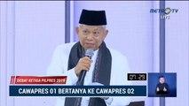 Debat Cawapres 2019 Ma'ruf Amin vs Sandiaga Uno - Part 4