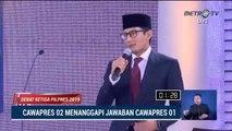 Debat Cawapres 2019 Ma'ruf Amin vs Sandiaga Uno - Part 3