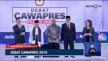 Debat Cawapres 2019 Ma'ruf Amin vs Sandiaga Uno - Part 1