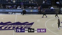 Chinanu Onuaku throws down the alley-oop!