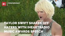 Taylor Swift Answers Haters In Awards Speech