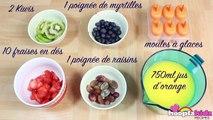 Recette Facile: Fruit Popsicles in French | Comment Faire Glaces aux Fruits Frais