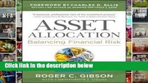 Asset Allocation: Balancing Financial Risk, Fifth Edition Complete