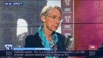 """""""Ceux qui veulent être entendus sont dans le grand débat"""": Elisabeth Borne condamne les casseurs des manifestations de samedi"""