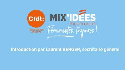 Mix'Idées 2019 - Introduction par Laurent Berger, secrétaire général