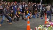 Attentat de Christchurch : un haka pour rendre hommage aux victimes