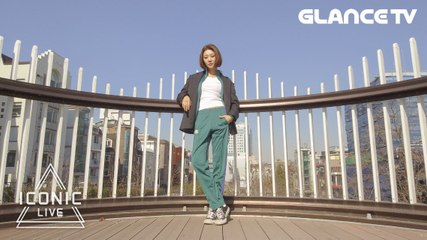 [Teaser] 뉴트로 패션과 YG KPLUS 모델 여연희의 조합은?! [아이코닉라이브]