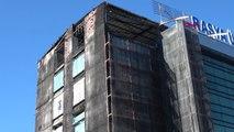 Trabzon Avrasya Üniversitesi'nde Yangının İzleri Silindi, Ders Başı Yapıldı