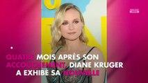 Diane Kruger affiche son incroyable silhouette quatre mois après son accouchement