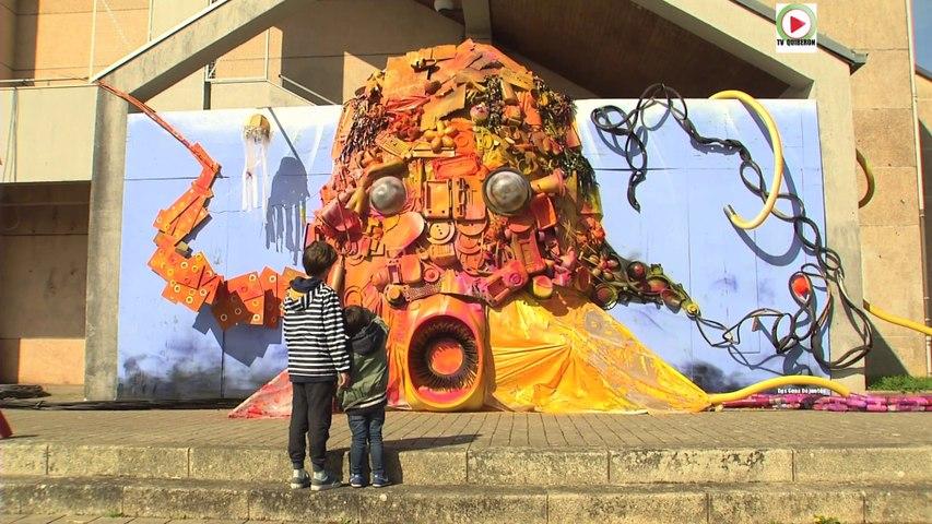 Auray: Top le Street Art, la Pieuvre - Bretagne Télé