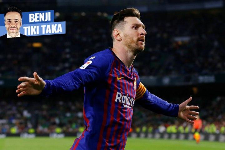 """Benji Tiki-Taka : """"Tout le monde se prosterne devant Messi"""""""